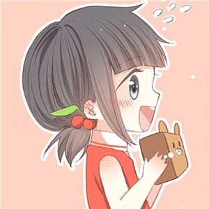 韩范小清新呆萌情侣头像