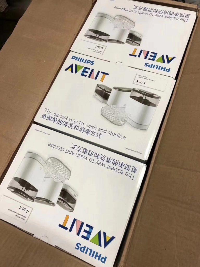 飞利浦新安怡4合1电子蒸汽消毒锅560B