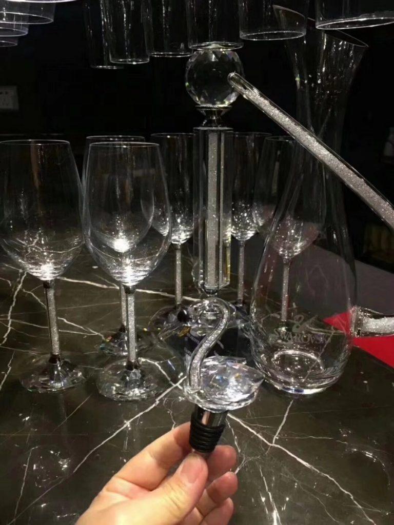 施华洛世奇水晶杯套装