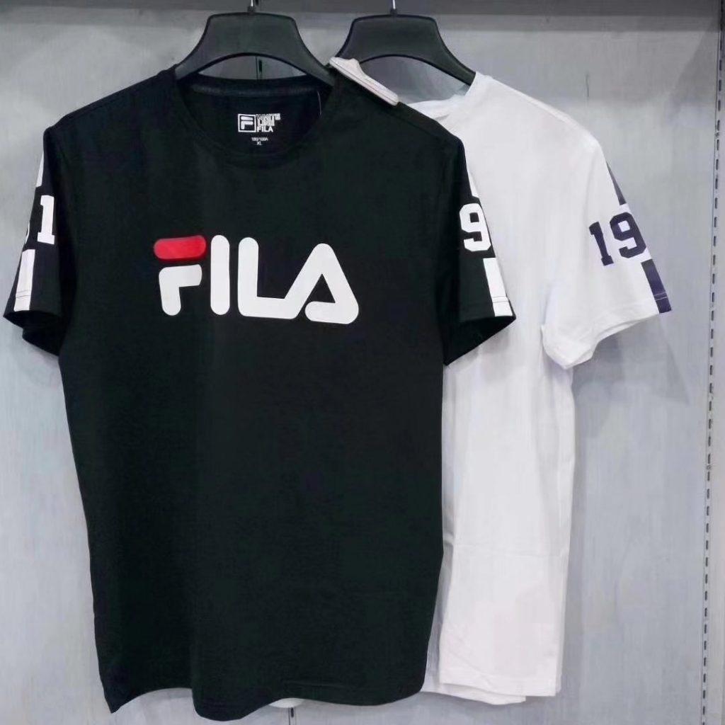原单正品# FILA # 男士夏季短袖T恤198B
