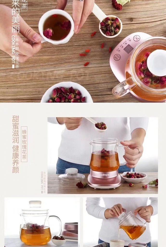 Aoding(奥丁)迷你自动养生花茶壶198B