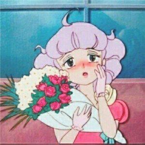 卡通可爱女女头像