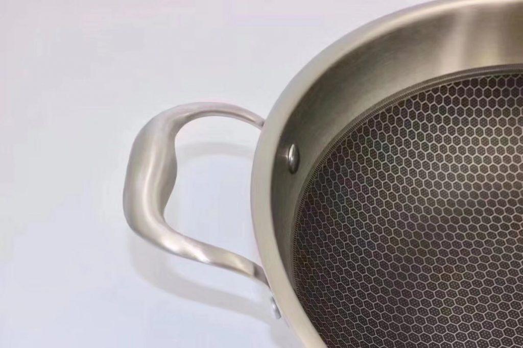 德国双立人第七代悬浮蜂窝可立盖炒锅