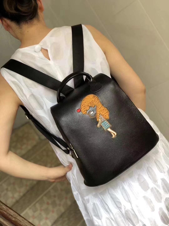 美丽的刺绣背包