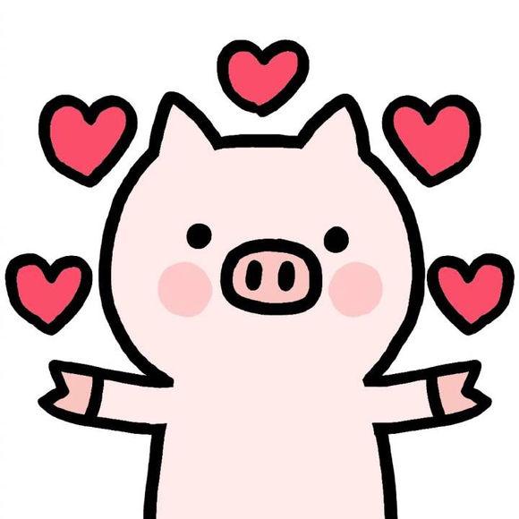 卡哇伊卡通猪猪头像