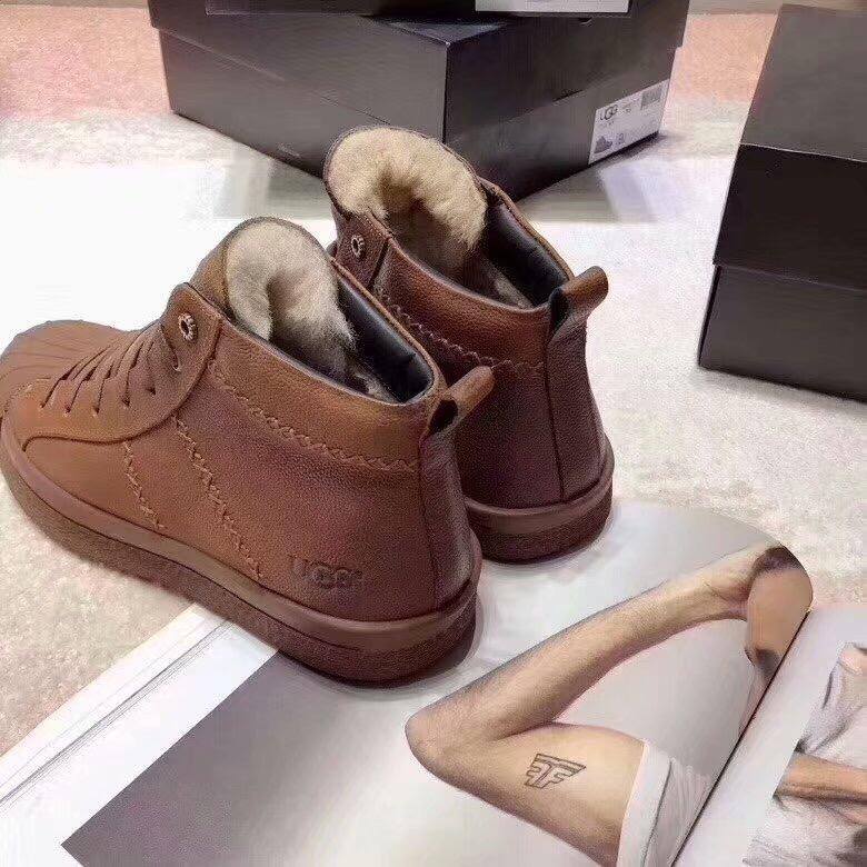 UGG男士贝壳休闲运动鞋
