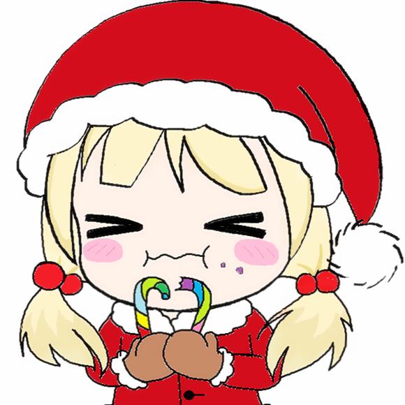 圣诞节平安夜卡通头像