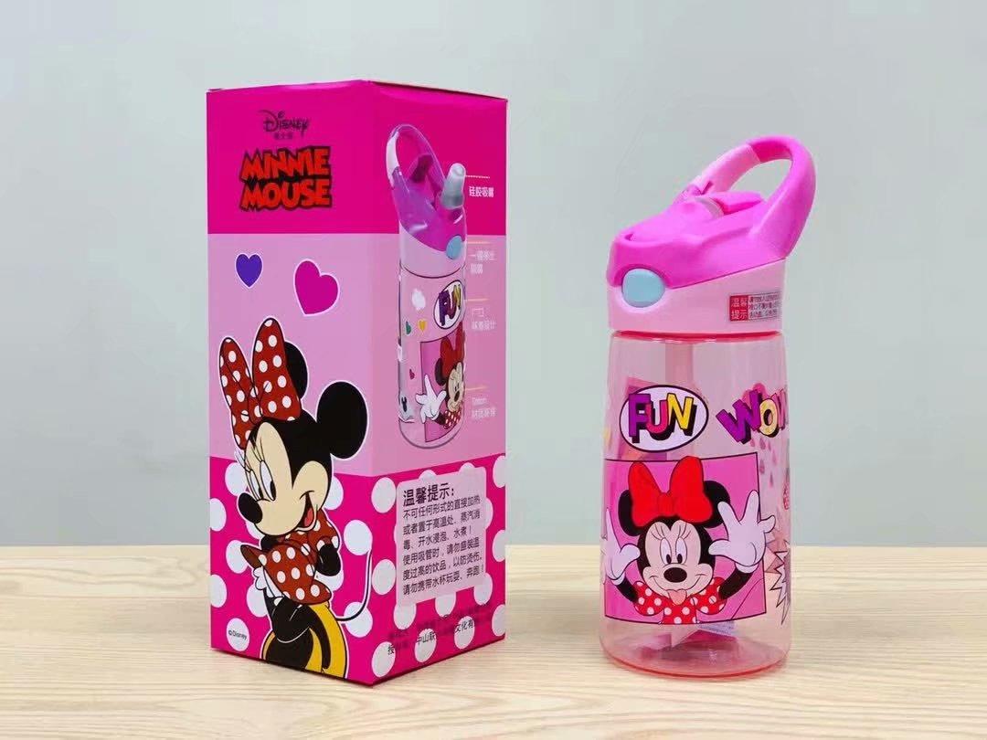 正品迪士尼系列便携式吸管杯