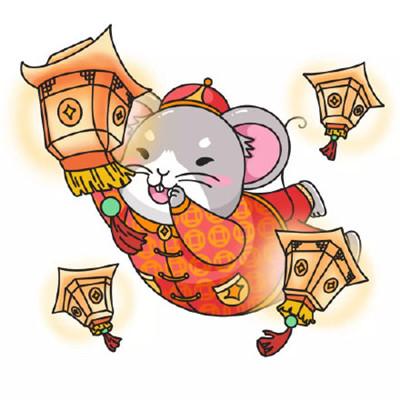 2020鼠年q版卡通可爱 头像图片