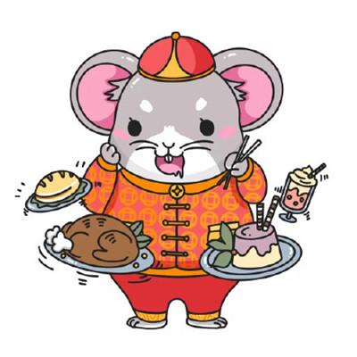 2020鼠年Q版卡通可爱 头像