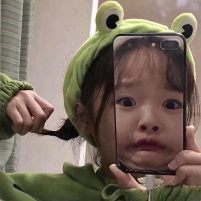 可爱爆了超级萌的小女孩头像