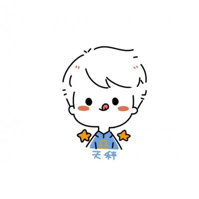 最新Q版可爱男生十二星座卡通头像