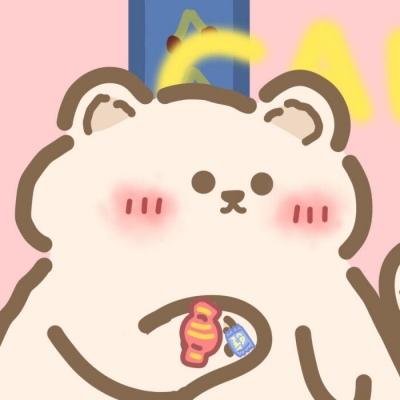 一对两张熊兔可爱卡通情侣头像