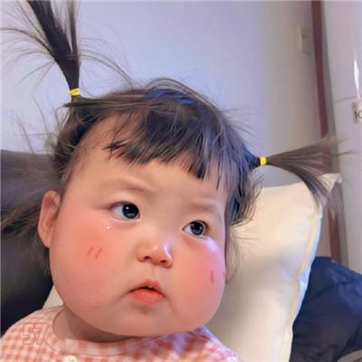 最新版可爱萌罗熙宝宝大脸特效头像