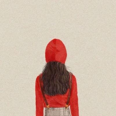 让人心动的动漫女生背影头像