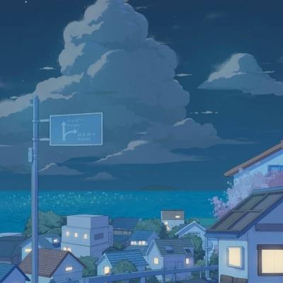 五月浪漫的治愈风景头像 月亮代表我的心