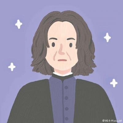 哈利波特最新插画微信头像
