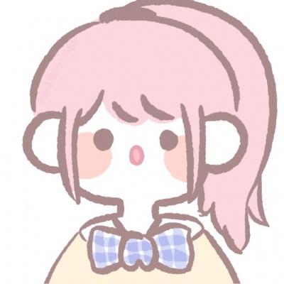 最新个性的呆萌女生卡通可爱头像