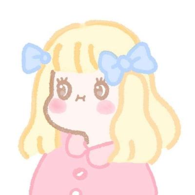 短发萝莉女生卡通萌头像大全